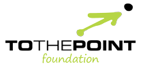 To The Point Foundation [logo]